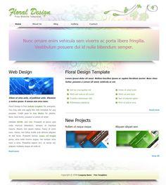 15 Free HTML Website Templates