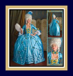 MARIE ANTOINETTE GOWN-Historical Sewing Pattern-Low Décolletage-Full Skirt-Petticoat-Cape-Neck Ruffle-Ruffles-Lace-Bows-Uncut-Size16-24-Rare by FarfallaDesignStudio on Etsy