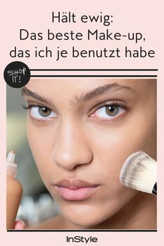 """""""Das ist die beste Foundation, die ich je benutzt habe"""" Make up: Foundation & Contouring It's the best makeup I've ever used. Because: The foundation lasts forever, does not paste and still covers. You can even shop here directly. Beauty Tips For Face, Beauty Make Up, Beauty Hacks, Hair Beauty, Face Tips, Beste Foundation, Foundation Tips, Foundation Contouring, Makeup Tutorial Foundation"""