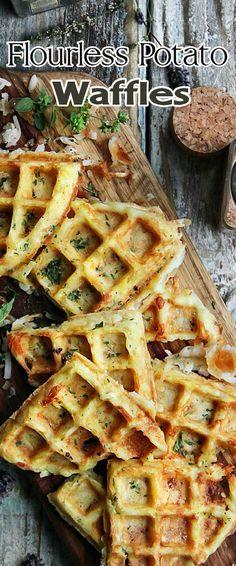Flourless Potato Waffles