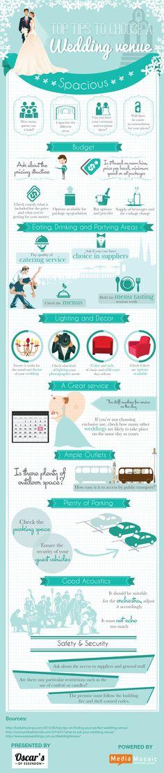 Top Tips to Choose a Wedding venue