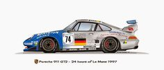 RM Style - 24 LM: 1997 : Porsche 911 GT2 - nº74