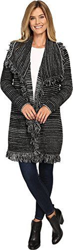 New Trending Outerwear: NYDJ Womens Outerwear Fringed Car Coat Black Outerwear. NYDJ Women's Outerwear Fringed Car Coat Black Outerwear  Special Offer: $79.20  355 Reviews NYDJ Size Chart Why not stay warm with a mind for chic! You're totally covered in NYDJ® style. Soft wool blend jacquard with dramatic static stripes. Allover fringe trim. Draped fit...