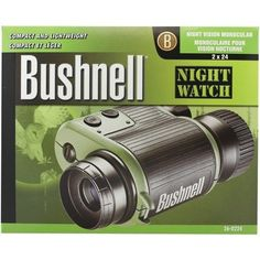 BUSHNELL 260224 2 x 24mm NightWatch® Night Vision Monocular