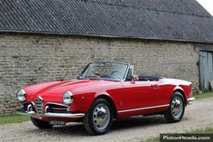 Classic 1959 ALFA ROMEO GIULIETTA SPYDER VELOCE for sale - Classic & Sports Car (Ref Oxfordshire)