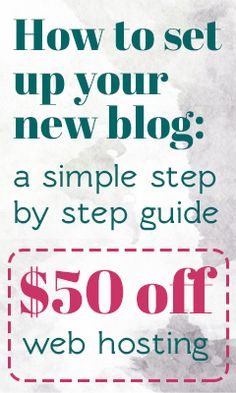 You can start your creative blog and pursue your dream today! It's easier than you think! See how I did it here, and you can too for only $5 a month!