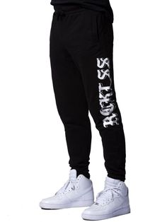 e97ac59f146f Young   Reckless Entwined Sweatpants - Black XL Sweatpants
