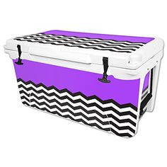 MightySkins Protective Vinyl Skin Decal for RTIC 65 qt Cooler wrap cover sticker skins Space Blocks *** You can get additional details at the image link.