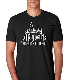 'Hogwarts Honor Student' Men T-Shirt //Price: $24.49 & FREE Shipping // #Hermione #ronweasley #felton #l4l #f4f #s4s #slytherin #scar #draco #dracomalfoy #tomfelton