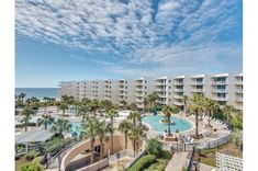 Call a booking specialist at BeachGuide 205-870-8700 for help finding the perfect unit at Waterscape Resort in sunny Fort Walton Beach, Florida. The lazy river, onsite poolside snack bar, swaying palm trees and inviting hot tubs make this a family favorite. Walk on the beach to the pier or to nearby dining. Vacation Deals, Beach Vacation Rentals, Vacation Resorts, Florida Vacation, Florida Beaches, Beach Resorts, Beach Trip, Beach Condo, Beach House