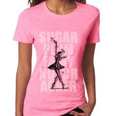 Nutcracker Ballet tee featuring Sugarplum Fairy sketch by street artist 8d6753b506b