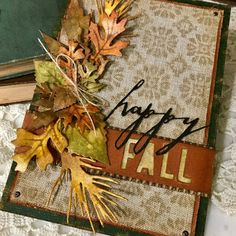 Hi friends! I'm loving all the cooler weather and all the fall colors outside. Be sure to check out my card showing all the fall colors. ...