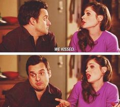 New Girl! Nick and Jess New Girl Funny, Jess New Girl, New Girl Tv Show, Snl News, New Girl Quotes, Jessica Day, The Mindy Project, Nick Miller, Zooey Deschanel