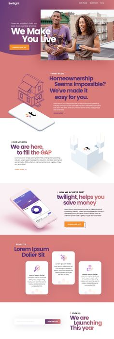 We need a vibrant, young, and modern landing page for millennials Website Design Inspiration, Landing Page Inspiration, Packaging Design Inspiration, Layout Inspiration, Landing Page Examples, Best Landing Pages, App Landing Page, Best Landing Page Design, Website Layout