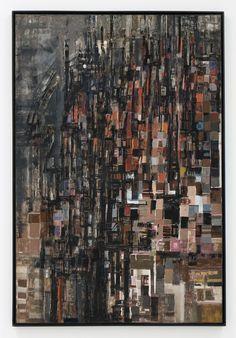 Maria Helena Viera da Silva - La Basilique, Collage, mixed media and printmaking Nadir Afonso, Tachisme, Famous Artwork, Art Moderne, Urban Art, Art Inspo, Art History, Printmaking, Photo Art