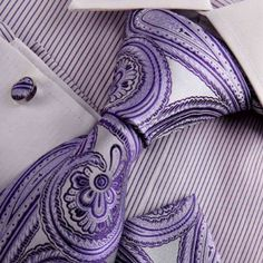 Amazon.com: Purple silk ties men indigo Paisley Woven Silk Tie Handkerchiefs Cufflinks Gift Box Set Y Relax necktie Set H8009: Clothing