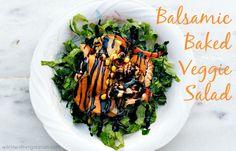 Balsamic Baked Veggie Salad