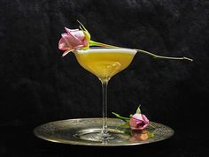 Gastronomista: The Isfahan Rose - A Cocktail Inspired by Middle Eastern Desserts | Recipe