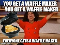 They're barely back on the shelves, and we are ALMOST SOLD OUT of our Darth Vader waffle makers! Get yours before they're all gone! May the force guide it to your home before Christmas....http://ow.ly/UYb8E
