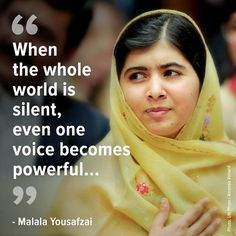 UNICEF @UNICEF #Malala - inspiring millions of children fighting for right to learn, right to be heard & protected. #dayofthegirl