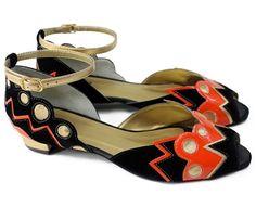 CLEMENTINE - Louloux - Sapatos Colecionáveis  #summer #shoes #handmade