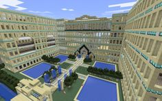 Minecraft Grand Hotel... or is this the white house? :P