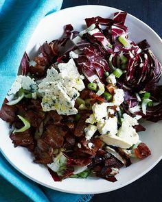 Treviso Chopped Salad with Walnut Oil Vinaigrette — Kitchen Repertoire