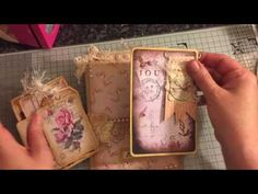 Shabby Vintage journal DT for ATatteredDream ETSY no 2 - YouTube