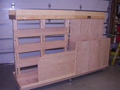 Mobile Lumber Storage Rack Plans