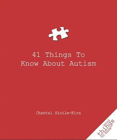 Every year, 1 in every 100 children in America are diagnosed with autism. Although autism has reached epidemic proportions, it is far from understood. In41 Things To Know About Autism, Chantal Sicile-Kira provides a clear, instructive explanation of autism. If you know someone with autism and would benefit from a quick, straightforward explanation of the condition, this book, 41 Things to Know About Autism by Chantal Sicile-Kira, is for you.