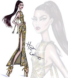 Red Carpet Glam: 'Gold Rush' by Hayden Williams| Be Inspirational ❥|Mz. Manerz: Being well dressed is a beautiful form of confidence, happiness & politeness