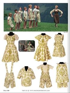 Ah yes!  The infamous curtain playclothes!  All seven of the original film costumes are going to be auctioned off at Profiles in History in July 2013.  #soundofmusic  #filmcostume #soundofmusicdress
