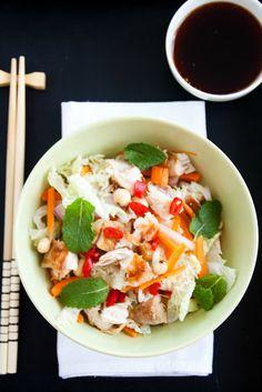 Tengo un horno y sé cómo usarlo | Recetas & fotos | Cocina paso a paso| Food | Spanish | Recipes: Ensalada vietnamita de pollo- Vietnamese chicken salad