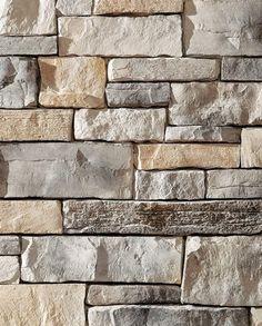 Prestige Weather Ledge - Stone Veneer - Interior Stone - Exterior Stone - By Dutch Quality Stone Exterior Houses, Exterior House Colors, Exterior Paint, Exterior Design, Diy Exterior, Stone Cladding Exterior, Stone Veneer Exterior, Stone Siding, Manufactured Stone