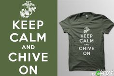 What Exactly Does 'Keep Calm and Chive On' Mean?: KCCO
