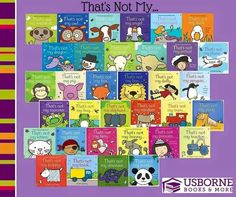 Touchy-Feely That's Not My… series was voted Best Buy in the Toddler Book category of the Prima Baby Reader Awards 2006.  A great collection for babies and toddlers with subject matter that peeks their interest or baby shower theme!!  https://n4955.myubam.com/p/5150/thats-not-my-complete-collection-33