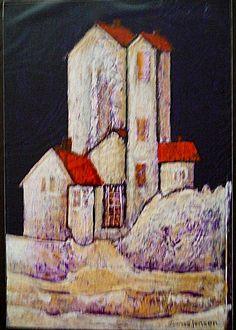 bilder malt med akrylmaling Malta, Canvas, Painting, Ideas, Tela, Malt Beer, Painting Art, Canvases, Paintings