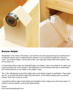 Drawer Helper
