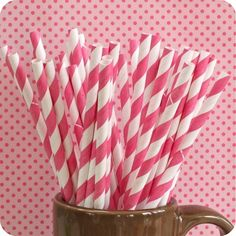 Paper straws! I remember these.