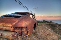 Wrecked Porsche  #porsche