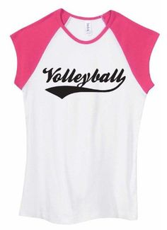 Amazon.com: Volleyball Swash Two-Toned T-shirt: Clothing
