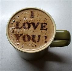 Love Latte Art! Etsy has these great stencils - check it out!