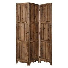 Winchester Rustic Room Divider