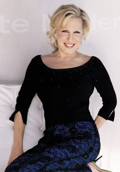 """My idea of superwoman is someone who scrubs her own floors.""    ~Bette Midler"