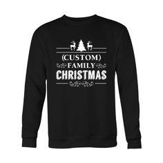 (Custom) Family Christmas Sweatshirt - Custom Product