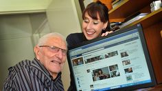 Grandparents becoming tech-savvy: no longer an oxymoron.