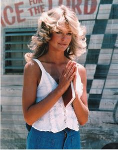 Farrah Fawcett RARE 8x10 Charlies Angels Photo MM0049 | eBay