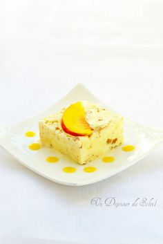 Peaches And Cream Semifreddo Recipes — Dishmaps