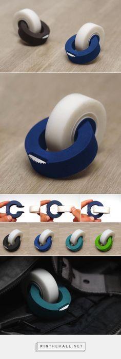 テープカッターの再発明。ミニマルデザインを極限まで突き詰めた「ClipTape」を紹介せずにはいられない。