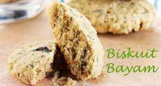 Biskuit Bayam :: Spinach Biscuits :: Klik link di atas untuk mengetahui resep biskuit bayam